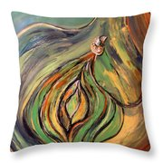 La Semilla - The Seed Throw Pillow