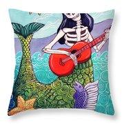 La Sirena Throw Pillow