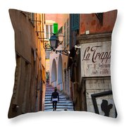 La Trappa Throw Pillow by Inge Johnsson