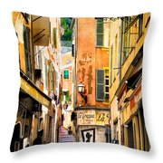 La Trappa.nice.france Throw Pillow