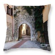 La Turbie French Village 4 Throw Pillow