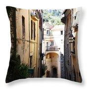 La Turbie French Village 5 Throw Pillow