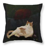 La Vie Grande Throw Pillow