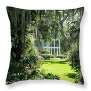 Labelle Plantation Throw Pillow