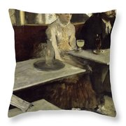 L'absinthe Throw Pillow