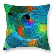 Labyrinth Throw Pillow