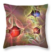 Lace And Pearls Throw Pillow