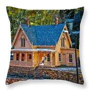 Lace House Blackhawk  Colorado Throw Pillow