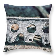Lace I Throw Pillow