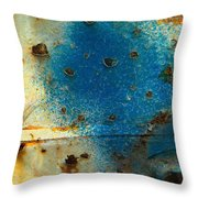 Laceration Of Elements  Throw Pillow