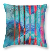 Lacerations Have Wounded  Throw Pillow