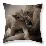 Lack Of Respect Throw Pillow
