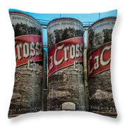Lacrosse Lager Throw Pillow