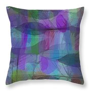 Lacy Leaves Throw Pillow