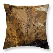 Ladder To The Center Of The Earth Throw Pillow