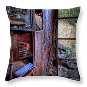 Ladder To The Upstairs Throw Pillow