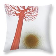 Laden With Gold Throw Pillow