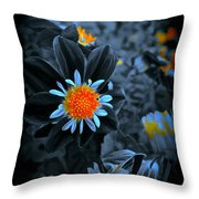 Ladies Gold Throw Pillow