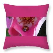 Ladies Rose Throw Pillow