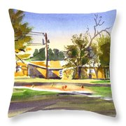 Ladies Tee Throw Pillow