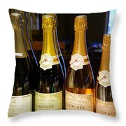 Laduree Champagne In Paris France Throw Pillow