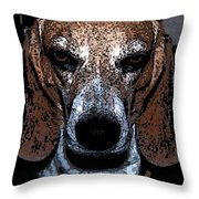Lady 3 Throw Pillow