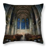 Lady Chapel At St Patrick's Catheral Throw Pillow