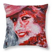 Lady Di Throw Pillow
