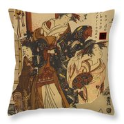 Lady Friends Throw Pillow