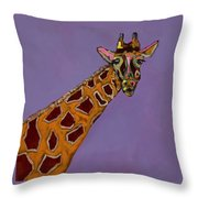 Lady G Throw Pillow