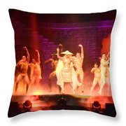 Paws Up Throw Pillow