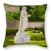 Lady Gandes Garden Throw Pillow