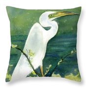 Lady-in-waiting II Throw Pillow