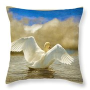 Lady-in-waiting Throw Pillow