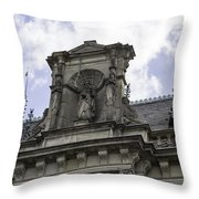 Lady Justice City Hall Cologne Germany Throw Pillow