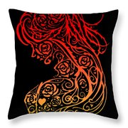 Lady Lace Throw Pillow