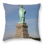 Lady Liberty 04 Throw Pillow
