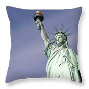 Lady Liberty 08 Throw Pillow