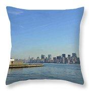 Lady Liberty 09 Throw Pillow
