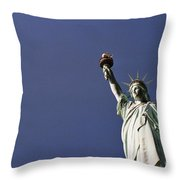 Lady Liberty  13 Throw Pillow