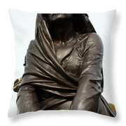 Lady Macbeth In Stratford Out Damned Spot  Throw Pillow by Terri Waters