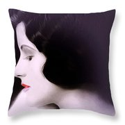 Lady O Throw Pillow