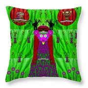 Lady Panda Have Arrived Throw Pillow