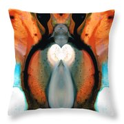 Lady Venus - Abstract Art By Sharon Cummings Throw Pillow