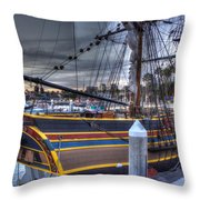 Lady Washington Throw Pillow by Heidi Smith