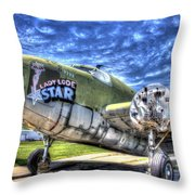 Lady Lode Star Throw Pillow