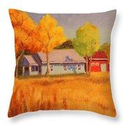 Lafayette Farm  Throw Pillow