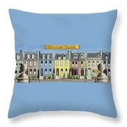 Lafayette Square Throw Pillow