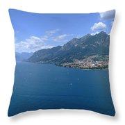 Lago Di Como Throw Pillow