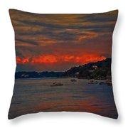 Lago Maggiore Throw Pillow